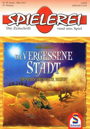 Spielerei Cover Nr. 98