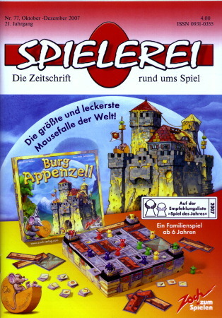 Spielerei Cover Nr. 77