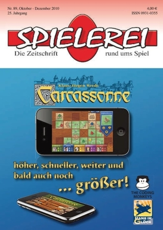 Spielerei Cover Nr. 89